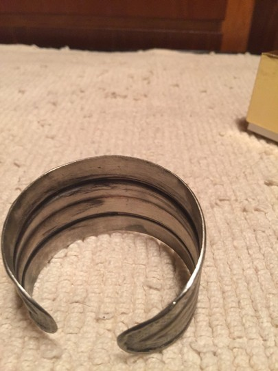 Free People Free People Silver Antiqued Cuff
