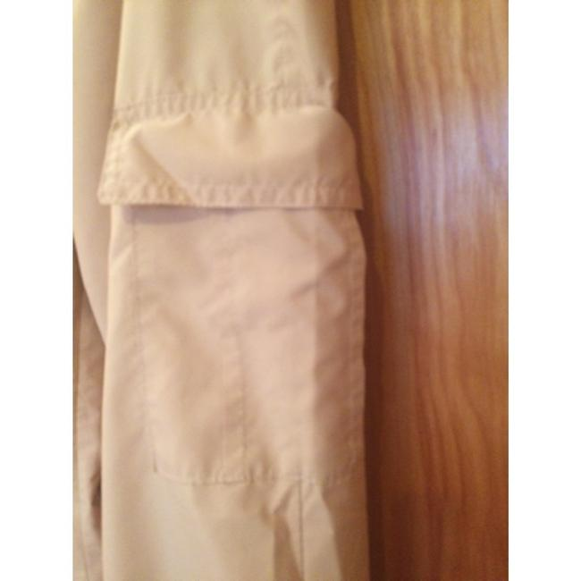 Laura Aime Paris Cargo French Made In France Summer Wide Leg Pants Beige Image 1