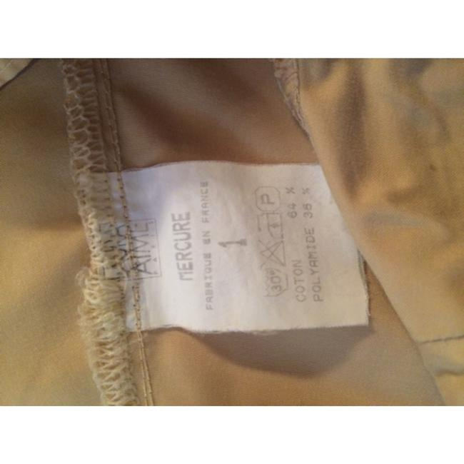 Laura Aime Paris Cargo French Made In France Summer Wide Leg Pants Beige Image 4