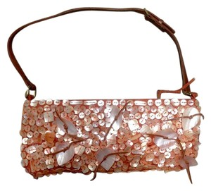 Chan Luu Embellished Mother Of Pearl Baguette