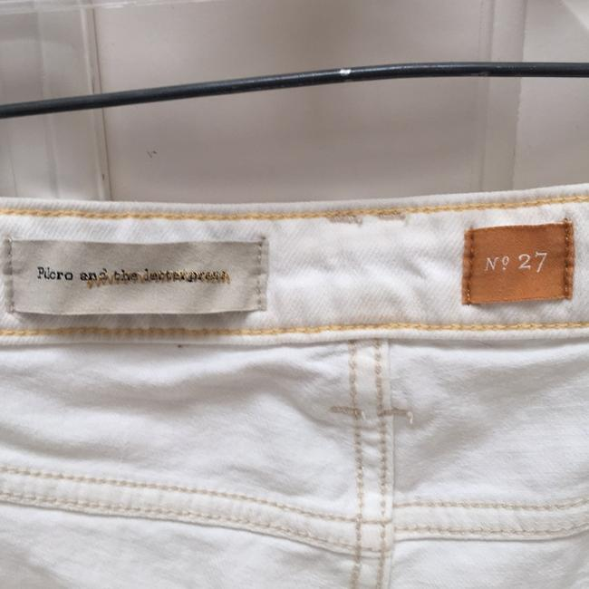 Anthropologie Cuffed Shorts Off White Image 3
