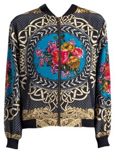 MM Couture printed Jacket