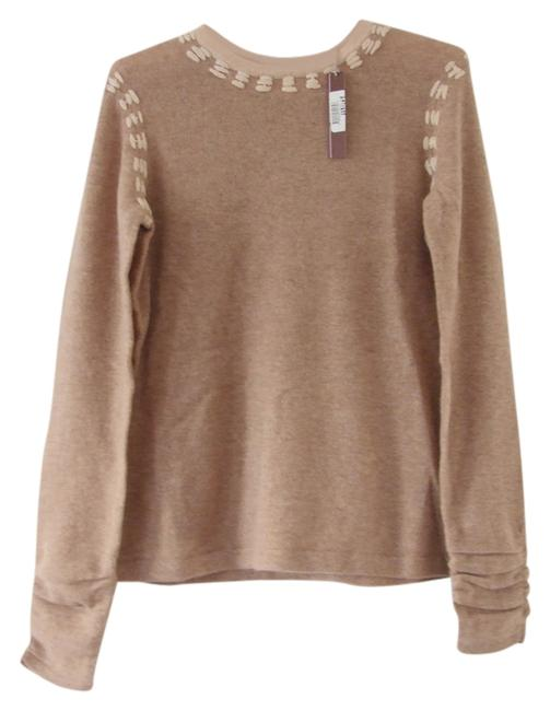Preload https://img-static.tradesy.com/item/1605135/cullen-taupe-designer-cashmere-crew-neck-fitted-classic-brown-sweaterpullover-size-0-xs-0-0-650-650.jpg