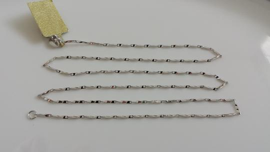 Other Italy 925 Sterling silver diamond cut chain necklace