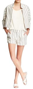 Twelfth St. by Cynthia Vincent Tweed Striped Shorts