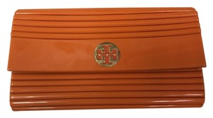 Tory Burch Summer Exclusive Night Out Orange Clutch