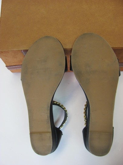 Charming Charlie Size 8.50 M Condition Black, Gold, Sandals Image 5