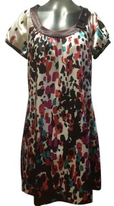 BCBGMAXAZRIA short dress Multi Color Print on Tradesy