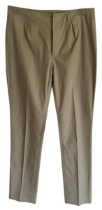 Oscar de la Renta Straight Pants light tan