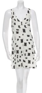 10 Crosby Derek Lam short dress Cream/Black on Tradesy