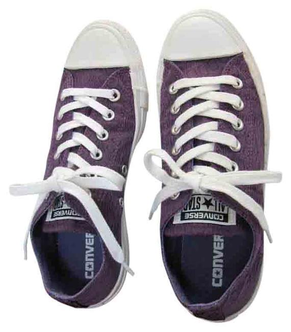 Item - Purple White New M Excellent Condition Sneakers Size US 7 Regular (M, B)