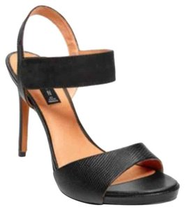Steven by Steve Madden High Heel Formal Stiletto Black Sandals