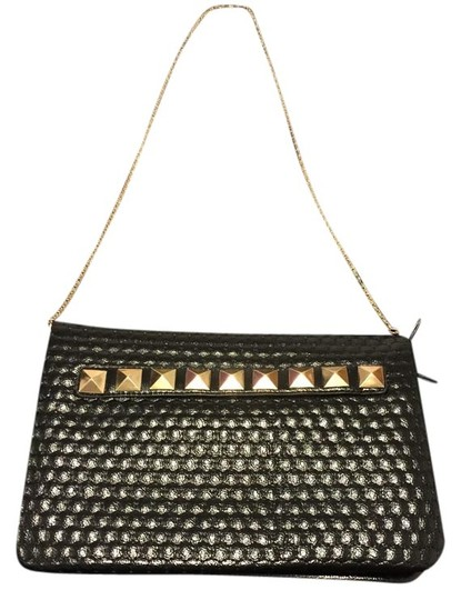 Other Faux Studded Black Clutch
