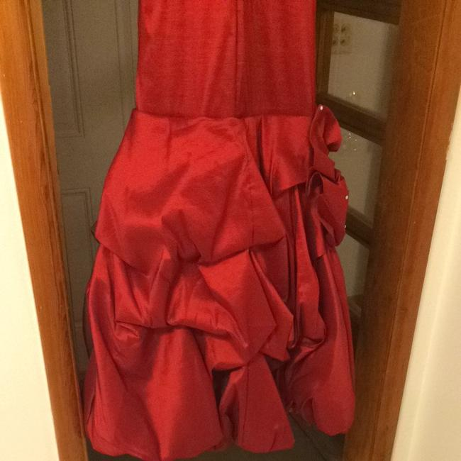 Red Maxi Dress by Cindy Collection
