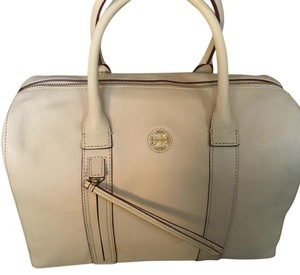 Tory Burch Satchel in Oak/pale Pink