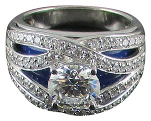 Victoria Wieck Victoria Wieck 2.93ct Absolute Sterling Silver Ring - Size 7