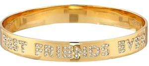 Kate Spade Kate Spade New York, Gold Plated, Engraved Best Friend Bangle