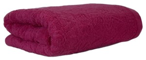 Versace Versace Rosa 100% Cotton Super Soft Signature Fuchsia Towel