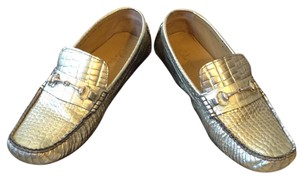Cole Haan Gold Metallic Flats