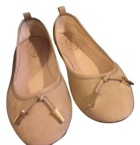 Tod's Like New Ballerinas beige Flats