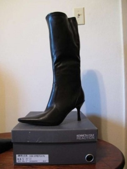 Kenneth Cole Calf Black Boots