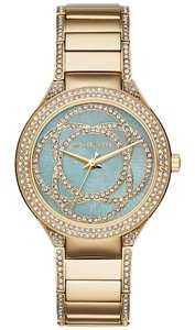 Michael Kors MK3481 MICHAEL KORS Kerry Mother of Pearl Gold-Tone Stainless Steel Ladies Watch