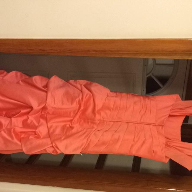 Coral Maxi Dress by David's Bridal
