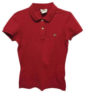 1fe8916b126ad4 Lacoste Red Pique Classic Fit Polo Tee Shirt Size 4 (S) - Tradesy