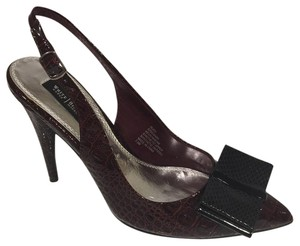 White House | Black Market Burgundy Pumps