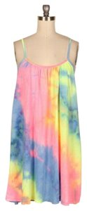 Other short dress Rainbow Tye Dye Cami Mini Boho on Tradesy