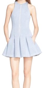 Alexander Wang short dress Mist blue on Tradesy