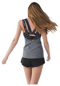 Lululemon NWT Lululemon Super Sport Tank Striped PARG Sz 4