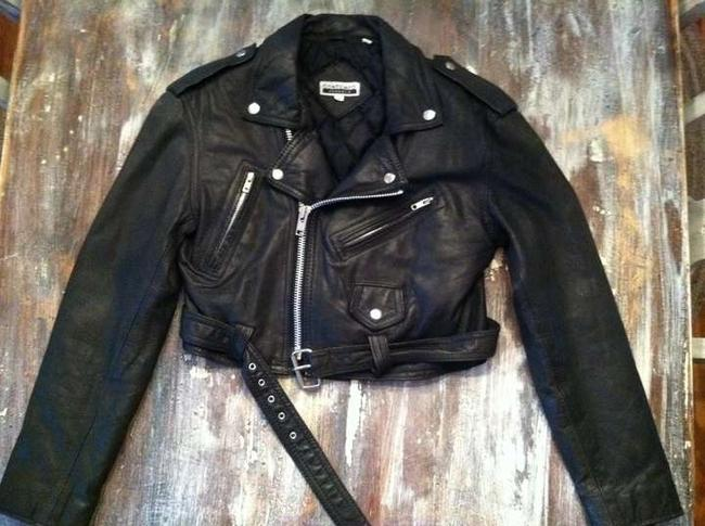 Contempo Casuals Leather Leather black Jacket