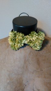 Kentucky Derby Prom Yellow Zinia Embellished Bow Tie