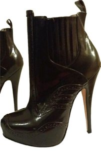 Vivienne Westwood Pirate Black Chocolate Rare Dark Brown Boots