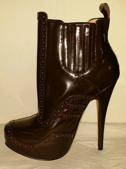 Vivienne Westwood Black Chocolate Rare Sold Out Sexy Runway Dark Brown Boots