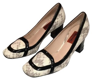 Missoni Black And Cream Pumps