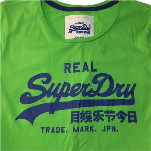 Super Dry T Shirt Green