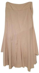 Free People Layered Maxi Skirt sand