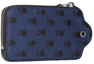 Coach Wristlet in Blue Badlands