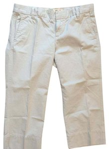 Gap Capris Tan; Cream; Khaki