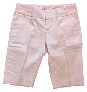 Gap Bermuda Shorts Pink; White