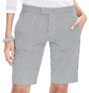 Banana Republic Bermuda Shorts Tan; Khaki; White