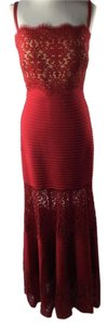Tadashi Shoji Ball Gown Evening Gown Lace Skirt Dress