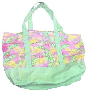 Lilly Pulitzer Beach Tote in pink multi