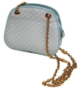 Gucci Vintage Collection Gg Gg Satchel in Blue