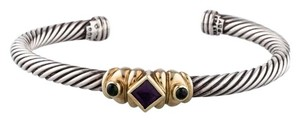 David Yurman Sterling silver David Yurman Renaissance Cable cuff bracelet