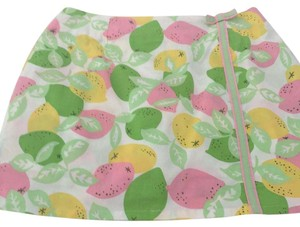 Lilly Pulitzer Skort pink / green / yellow