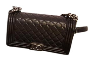 Chanel Quilted Lambskin Le Boy Shoulder Bag