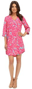 Lilly Pulitzer short dress Pink/Blue on Tradesy